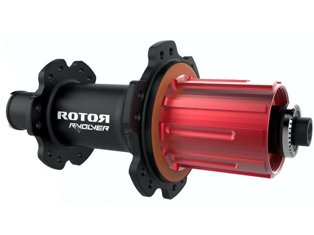 Rotor R-Volver Hinterradnabe Schnellspanner für Shimano-Rotor black